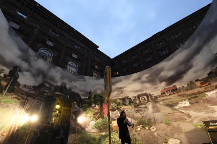 Foto Massimo Forchino per Arte alle Corti